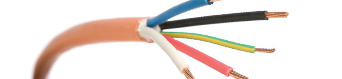 various coloured wires